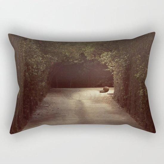 little by little Rectangular Pillow
