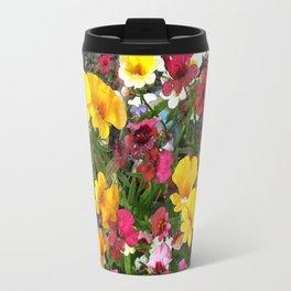 Colorful Nemesia Travel Mug