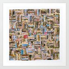 Mambo Parisienne  Art Print