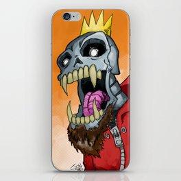 Jackhook Metal Skeleton iPhone Skin
