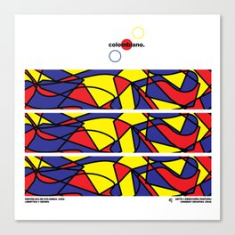 colombiano. [colombia collection] Canvas Print