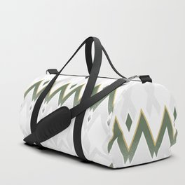 Icelandica Pattern Green Duffle Bag