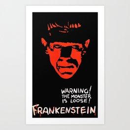 Frankenstein 31 Art Print