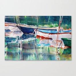 Dinghies Canvas Print