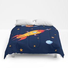 Spaceship! Comforters