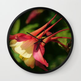 Flower - Hat of a Court Jester Wall Clock