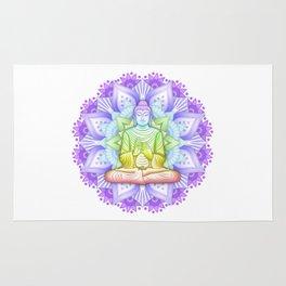 Color Mandala Rug