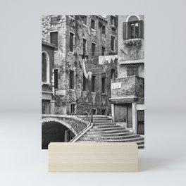 calle dei morti - the street of the dead, venice Mini Art Print