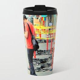 Texting, One...Two... Travel Mug