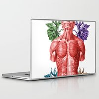 human Laptop & iPad Skins featuring HUMAN by MANDIATO ART & T-SHIRTS