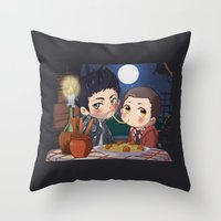 clueless Throw Pillows featuring The Stiles&TheTramp by MGNemesi