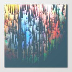 Raining Colors / Autumn 11-10-16 Canvas Print
