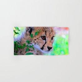 Aqua_Cheetah_20180102_by_JAMColorsSpecial Hand & Bath Towel