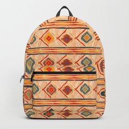 Southwestern Motif in Beige Backpack