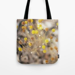 Abstract Botanical - Billy Buttons Tote Bag