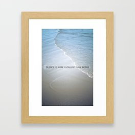 Eloquence Framed Art Print