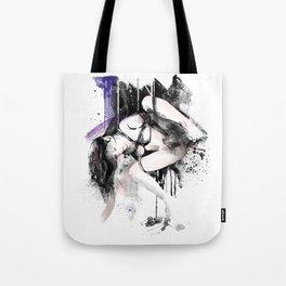 Shibari - Japanese BDSM Art Painting #11 Tote Bag