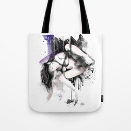 Shibari - Japanese BDSM Art Painting #11 Tote Bag
