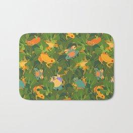 Froggy forest Bath Mat