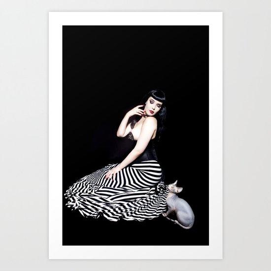 Felicia & Dobby Art Print