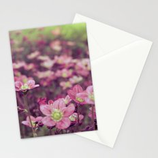 Pink Saxifrage Stationery Cards