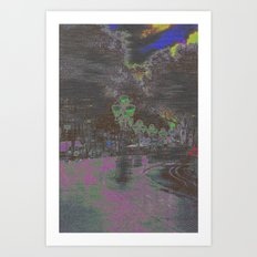 Phased, or fazed, but a reaction is quite the key. Art Print