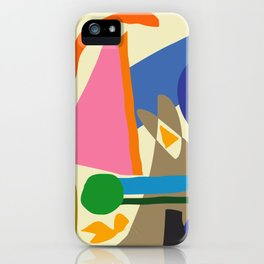 Abstract morning iPhone Case