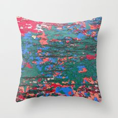 Chipping Paint Throw Pillow