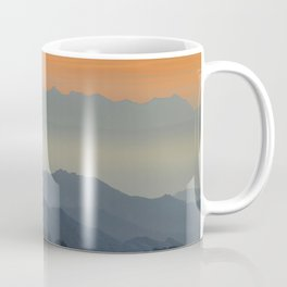 """""""Sunset at the mountains"""". Dreaming... Coffee Mug"""