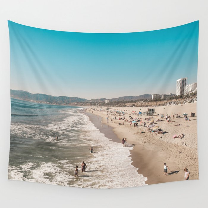 Santa Monica Wall Tapestry