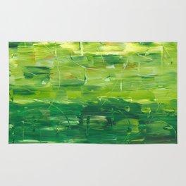 Green World by Australian Artist Vidy Potdar Rug