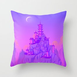 Air Temple Throw Pillow