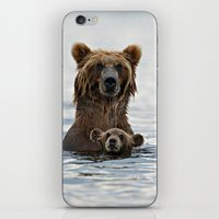 bears iPhone & iPod Skins featuring BEARS!!! by Donutwrangler