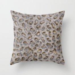 Texture composition No. II Throw Pillow