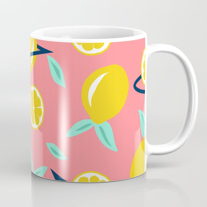 Lemons party #society6 #decor #buyart Coffee Mug