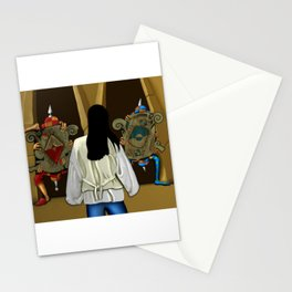 One of us Always Lies Stationery Cards