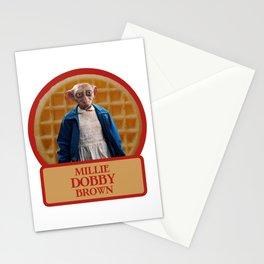 Millie Dobby Brown Stationery Cards