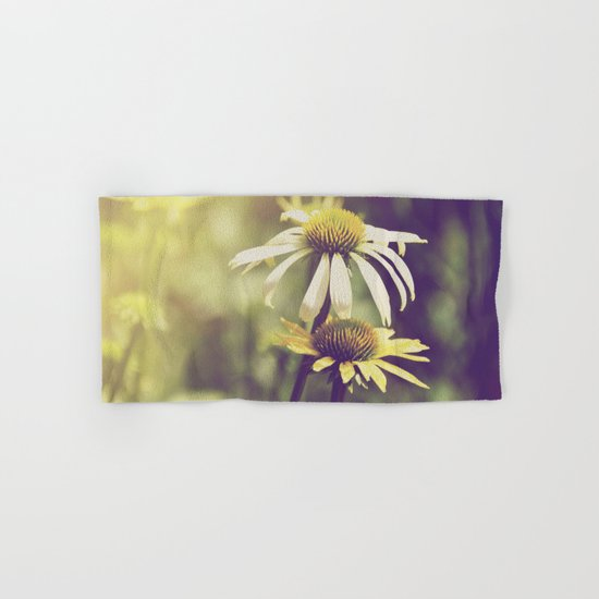 Sunshine flowers Hand & Bath Towel