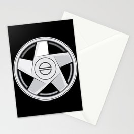 Wheel Design Volvo Hydra Stationery Cards
