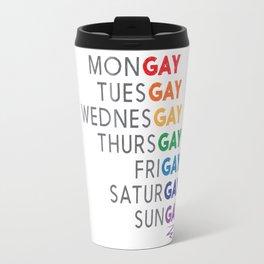 THE GAY AGENDA Travel Mug