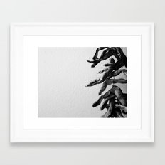 Leather Britches Framed Art Print