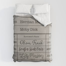 MOBY DiCK (1851) Duvet Cover