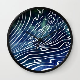 Wine Dark Wall Clock