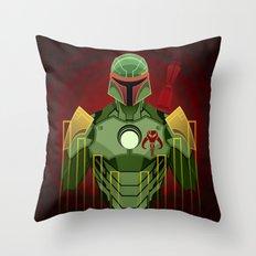The Bounty Hunter Throw Pillow