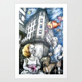 Oniric. Art Print