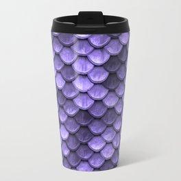 Mermaid Scales Periwinkle Ultra Violet Travel Mug
