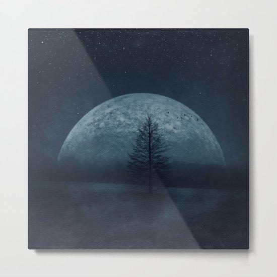 Moon Twilight Metal Print