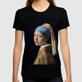 Johannes Vermeer - Girl with a Pearl Earring T-shirt