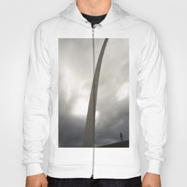 Gateway Arch with figure Hoody