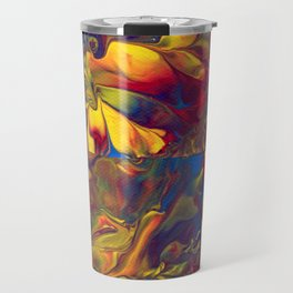 Paint Pouring 19 Travel Mug